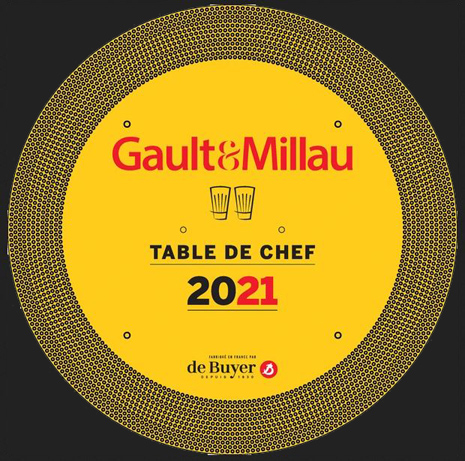 Restaurant 2 toques Table de Chef 2021